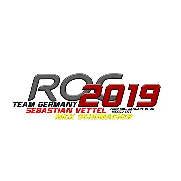 RoC 2019 - Team Germany by F1Marv