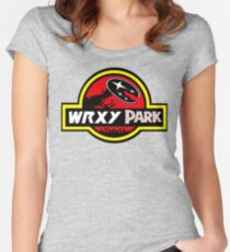 wrx park Women's Fitted Scoop T-Shirt