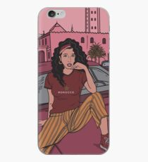 MOROCCAN ROSE  iPhone Case