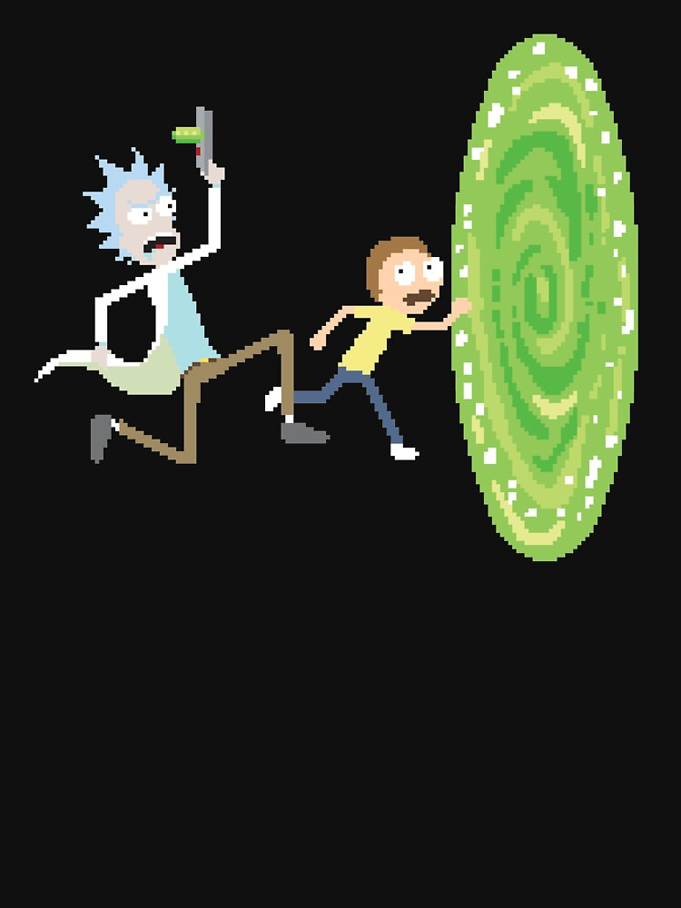 Rick and Morty Pixels - Pixel Rick! by carlhuber