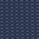 Indigo Denim Kimono Inspired Tile print by SandAndChi