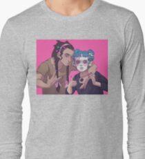 Space Buns 'n' Braids Long Sleeve T-Shirt