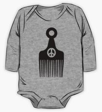 Afro Hair Peace One Piece - Long Sleeve