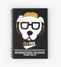 DJ KK- International Railroad Tour 2013 Spiral Notebook