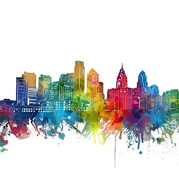philadelphia skyline by BekimART