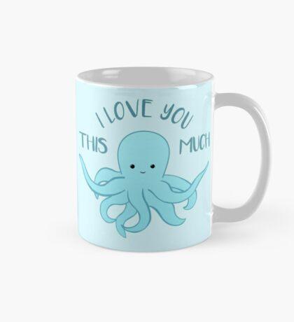 OCTOPUS Valentines Pun - Funny Valentines Day Card - Anniversary Pun - Funny Anniversary gift - Animal - Sea - Blue Mug