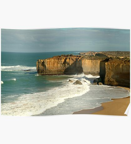 Coast Line,Great Ocean Road Poster