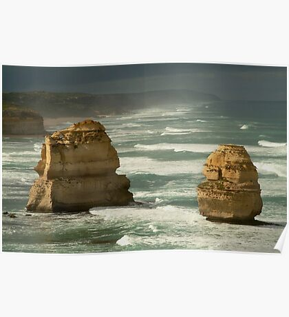 Dark Skies,Twelve Apostles,Great Ocean Road Poster