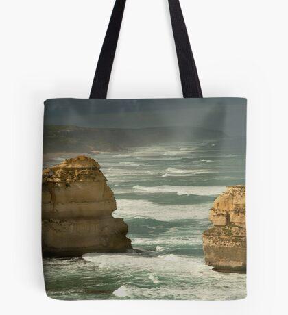 Dark Skies,Twelve Apostles,Great Ocean Road Tote Bag