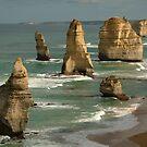The Twelve Apostles,Great Ocean Road by Joe Mortelliti