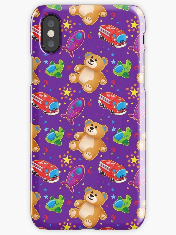 Boytoys - iPhone case by Beesty