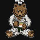 Teddybär in Gi - BJJ Jiu-Jitsu und MMA T-Shirt von pacomerch
