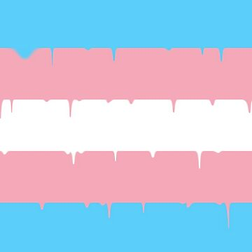 Transgender Meltdown Flag by loganferret