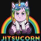 Einhorn in GI - BJJ Jiu-Jitsu und MMA T-Shirt von pacomerch