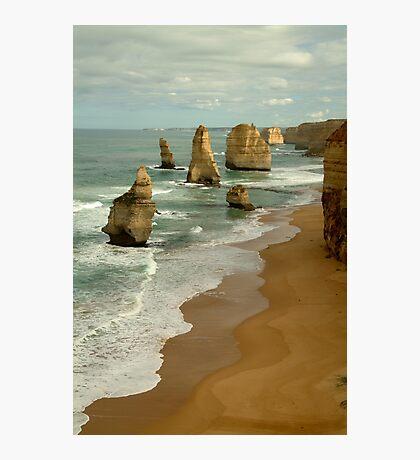 Patterns,Twelve Apostles Great Ocean Rd Photographic Print