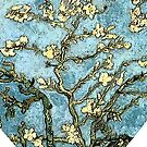 Blossoming Almond Tree Heart by DesignsByDebQ