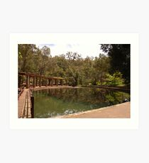 Araluen Gardens Art Print