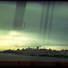 The Bay From A Bus by Mark Moskvitch