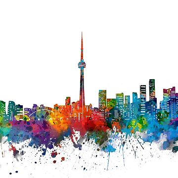 toronto skyline by BekimART