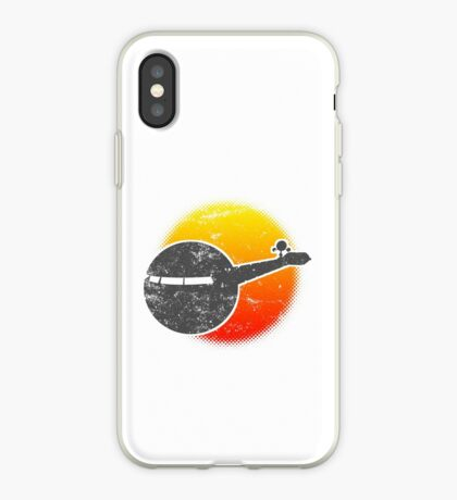 USS A One Space Discovery Odyssey Approach 2001 Light iPhone Case