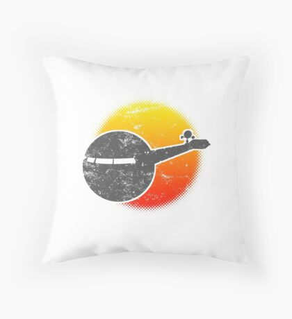 USS A One Space Discovery Odyssey Approach 2001 Light Throw Pillow