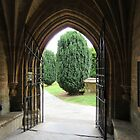 The Way Out, Martock Church by lezvee