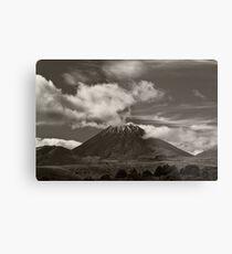 Mt. Ngauruhoe - New Zealand ... aka Mt. Doom - Middle Earth Metal Print