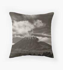 Mt. Ngauruhoe - New Zealand ... aka Mt. Doom - Middle Earth Throw Pillow