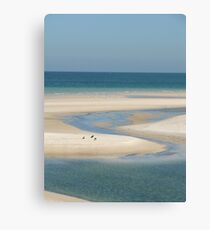 Outlet To The Sea Canvas Print