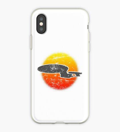 Galaxy D Class Starship 1701 - Light iPhone Case