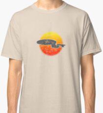 Galaxy D Class Starship 1701 - Light Classic T-Shirt