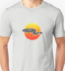 Galaxy D Class Starship 1701 - Light T-Shirt