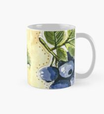 Bilberry Botanical Painting Mug
