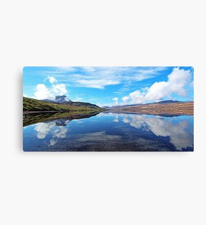 Ben Hope and Loch Hope Canvas Print