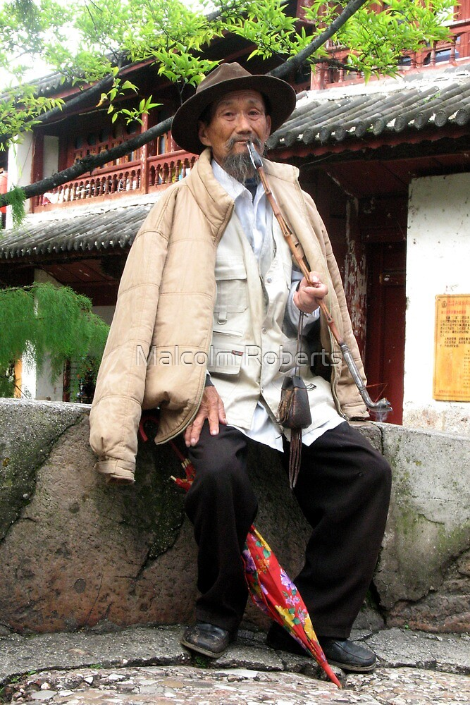 Old Man of Lijiang by Malcolm Roberts