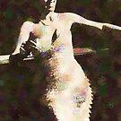 Dorothy Dandridge, 1951, Acrylic  by #PoptART products from Poptart.me