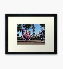 Monsters University Framed Print