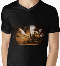 Shiny Knight Armour! Men's V-Neck T-Shirt