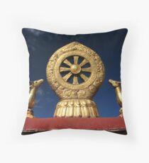 Jokhang Mandala Throw Pillow