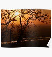 Romney Marsh Sunset Poster