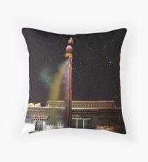 Midnight Monastery Throw Pillow
