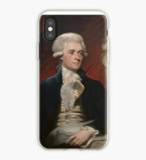 Thomas Jefferson Painting iPhone Case