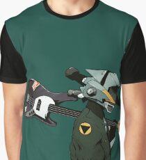 FLCL-Gitarre Grafik T-Shirt