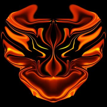 Fire Face  by Its-Popcoin
