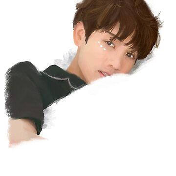 BTS Jungkook Hearts Portrait de imgoodimdone