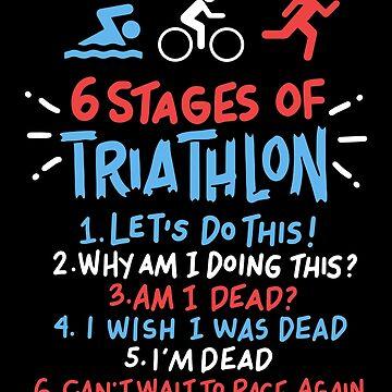 6 stations triathlon swimming cycling running gift by Netsrikfa