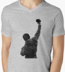 Never give UP! Rocky Balboa Men's V-Neck T-Shirt