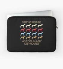 Greyhound Dog Vintage Retro Style Laptop Sleeve