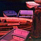 A Swarm of Skiffs by OntheroadImage