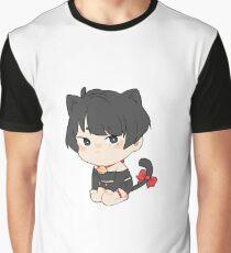 Katzenjunge Grafik T-Shirt